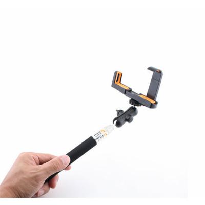 LED Sound Selfie Bot Fekete