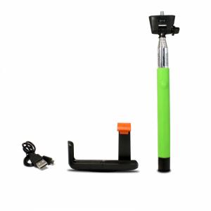 LED Sound Selfie Bot Zöld