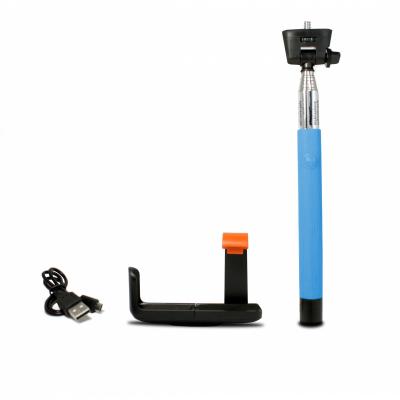 LED Sound Bluetooth Selfie Bot Kék